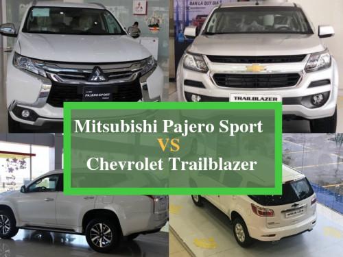 So sánh giá, hiệu năng Chevrolet Trailblazer và Mitsubishi Pajero Sport, 85947, Nguyễn Ngọc Diệp, Blog MuaBanNhanh, 03/10/2018 09:34:14