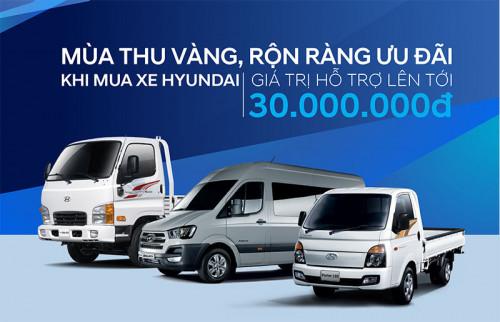 Chương trình khuyến mãi 'Mùa thu vàng', hỗ trợ lến đến 30 triệu đồng, 86165, Hyundai Phú Mỹ, Blog MuaBanNhanh, 08/10/2018 15:05:57