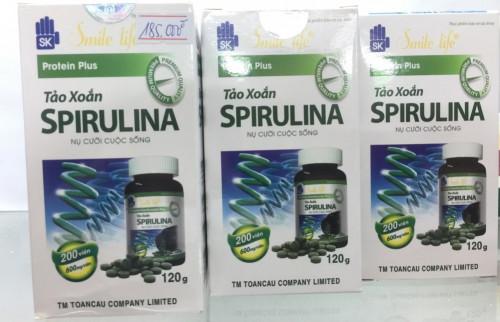 Tảo Xoắn Spirulina - Hỗ trợ tăng cường sức đề kháng, chống táo bón, 86149, Ht Cửa Hàng Enmax, Blog MuaBanNhanh, 08/10/2018 10:27:50