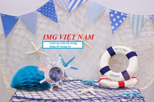 Lưới an toàn dù trắng dùng để trang trí, 86160, Minh Ngọc, Blog MuaBanNhanh, 08/10/2018 13:26:13