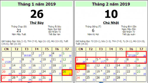 Lịch nghỉ tết 2019 của học sinh, 86210, Ms Thảo, Blog MuaBanNhanh, 11/10/2018 12:35:07