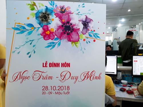 Mẫu bảng tên cô dâu chú rể đẹp, 86709, Ms Tuyết Trinh, Blog MuaBanNhanh, 27/10/2018 16:24:24
