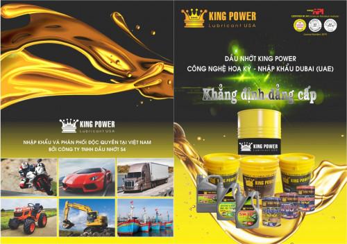 Nhớt giá sỉ, chuyên phân phối nhớt nhập khẩu từ Ả Rập giá sỉ thương hiệu King Power, 86702, Ms Thương, Blog MuaBanNhanh, 26/10/2018 17:00:02