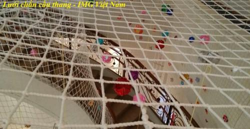 Lưới an toàn dù trắng sử dụng để che chắn cầu thang, 86692, Minh Ngọc, Blog MuaBanNhanh, 27/10/2018 15:38:11