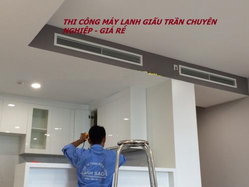 Chuyên nhận thi công máy lạnh âm trần Daikin nối ống gió cho biệt thự, căn hộ sang trọng tại quận 2, quận 7, 87110, Trần Minh Tân, Blog MuaBanNhanh, 08/11/2018 09:12:10