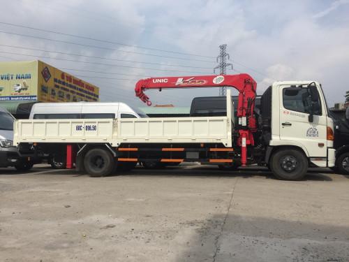 Giá xe tải gắn cẩu Hino FC9jlsw 5 tấn, gắn cẩu Unic V340 3 tấn, 87427, Mr Tú - Xe Tải Miền Nam, Blog MuaBanNhanh, 15/11/2018 14:54:15