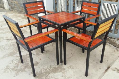 Báo giá bàn ghế gỗ chân sắt quán ăn, nhà hàng, quán nhậu giá xưởng tại TP HCM, 87597, Xưởng Sản Xuất Ghế Mây Thái Bình, Blog MuaBanNhanh, 20/11/2018 17:07:19