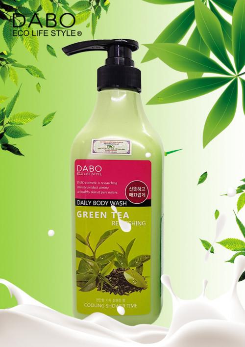 Sữa tắm trà xanh cao cấp Dabo Refreshing Greentee Daily Body Wash, 87736, Trà Ngọc Trân, Blog MuaBanNhanh, 27/11/2018 10:33:07