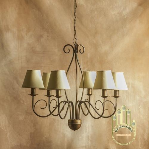 Đèn chùm sắt nghệ thuật - Mẫu đèn chùm cổ điển Châu Âu độc đáo, 88017, Đào Sương, Blog MuaBanNhanh, 04/12/2018 09:05:33