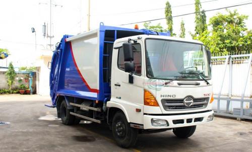 Giới thiệu xe cuốn ép rác Hino FC9JETA thùng 9 khối, 88052, Công Ty Bán Xe Tải Uy Tín Sài Gòn, Blog MuaBanNhanh, 12/12/2018 11:55:25