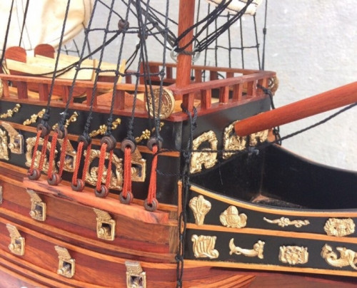 Mô hình thuyền gỗ, tàu chiến cổ Sovereign of The Seas - Món quà tặng phong thủy ý nghĩa, 88279, Nguyễn Văn Bình, Blog MuaBanNhanh, 13/12/2018 09:02:50