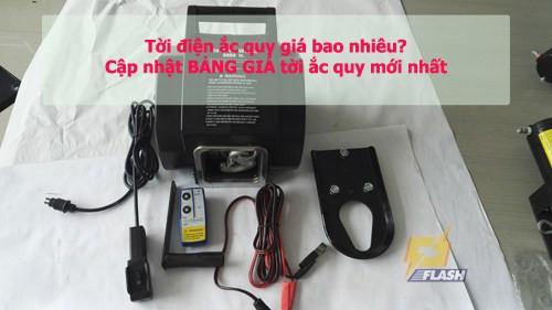 Máy tời điện ắc quy giá bao nhiêu tiền? Cập nhật bảng giá mới nhất, 88789, Trần Hải Anh, Blog MuaBanNhanh, 04/01/2019 15:29:48