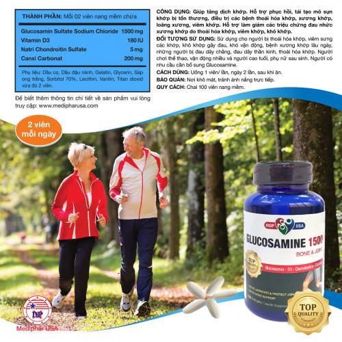 Glucosamine có hỗ trợ điều trị bệnh Gout không?, 89247, Mediphar Usa, Blog MuaBanNhanh, 19/01/2019 09:59:35