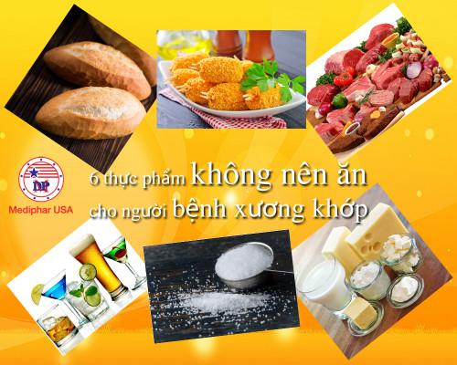 Bệnh viêm xương khớp tránh ngay 6 loại thực phẩm này, 89465, Mediphar Usa, Blog MuaBanNhanh, 12/02/2019 08:55:44