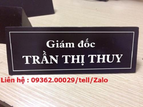 Sự tiện lợi, sang trọng của các loại biển chức danh, 91135, Ms Thùy, Blog MuaBanNhanh, 15/05/2019 13:24:24