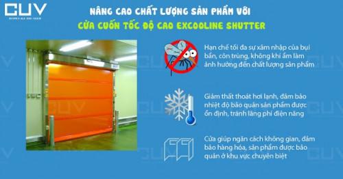 Nâng cao chất lượng sản phẩm với cửa cuốn tốc độ cao Excooline Shutter, 90974, Cung Ứng Việt, Blog MuaBanNhanh, 06/07/2019 13:41:44