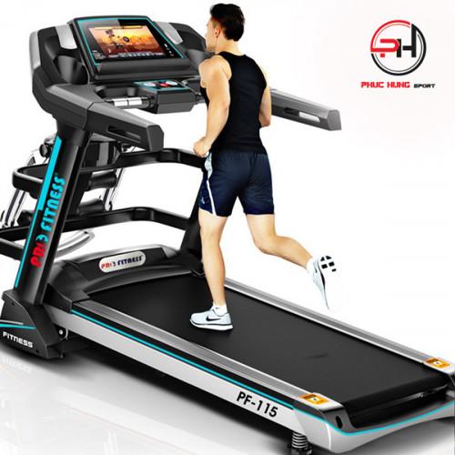 Máy chạy bộ điện Pro Fitness PF-115 thương hiệu công nghệ Mỹ, 93029, Đặng Văn Kỳ, Blog MuaBanNhanh, 27/11/2019 09:44:22