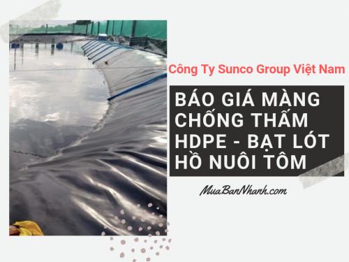 Bảng giá bạt lót hồ nuôi tôm, vuông tôm, bờ ao nuôi tôm, 93215, Mr Thức Công Ty Sunco Group Việt Nam, Blog MuaBanNhanh, 04/10/2019 16:45:19