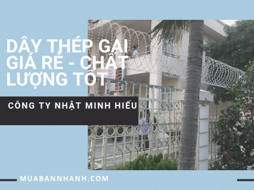 Dây thép gai giá rẻ Chất lượng tốt trên MuaBanNhanh, 93240, Hàng Rào Lưới Thép Hàn, Lưới Thép Hàn, Dây Thép Gai, Blog MuaBanNhanh, 08/10/2019 09:05:22