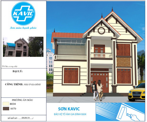 Công trình sử dụng Sơn KAVIC, 93460, Sơn Kavic, Blog MuaBanNhanh, 08/06/2021 15:12:10