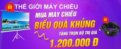 Trọn gói máy chiếu và màn chiếu 100 inch giá rẻ, 93785, Lê Uyên Linh, Blog MuaBanNhanh, 16/03/2020 11:42:06