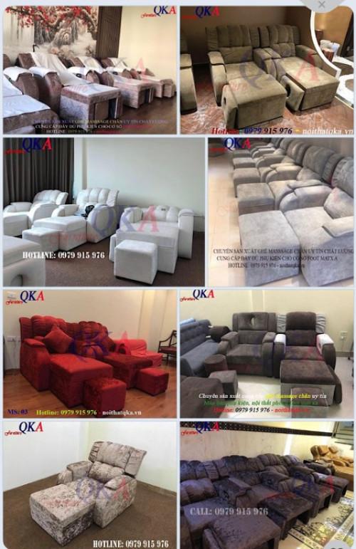 Nhận làm ghế massage chân - Nội thất phòng foot mát xa theo yêu cầu, 93995, Nội Thất Qka, Blog MuaBanNhanh, 11/02/2020 14:23:25