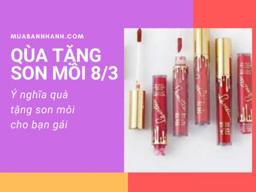 Ý nghĩa từng màu son môi khi tặng bạn gái ngày Quốc tế phụ nữ 8/3, 94067, Nguyễn Thu, Blog MuaBanNhanh, 19/02/2020 13:03:23