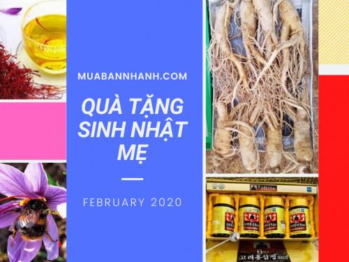 Quà tặng sức khỏe - Món quà ý nghĩa nhất trong ngày sinh nhật mẹ, 94114, Nguyễn Thu, Blog MuaBanNhanh, 06/03/2020 14:14:13