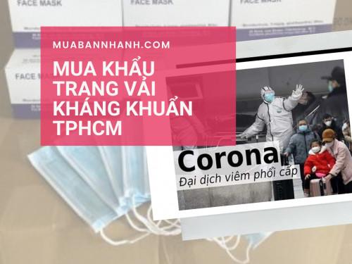Khẩu trang vải kháng khuẩn có tốt không?, 94115, Nguyễn Thu, Blog MuaBanNhanh, 06/03/2020 14:14:01