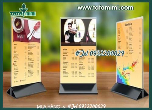 Kệ menu thực đơn để bàn bằng mica, 94226, Ms Hằng, Blog MuaBanNhanh, 12/03/2020 14:55:31