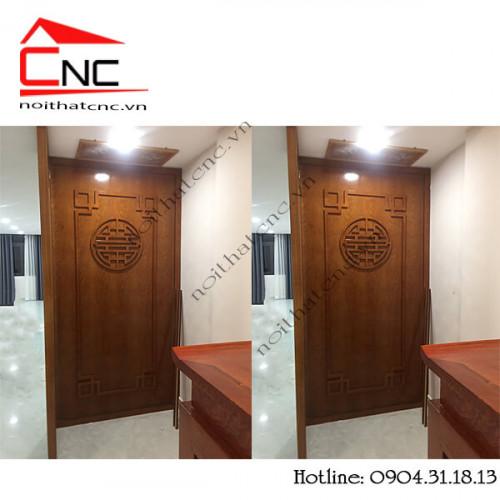 Trang trí gỗ ốp tường phòng thờ đẹp hiện đại, 94341, Kim Dung, Blog MuaBanNhanh, 30/03/2020 09:29:12