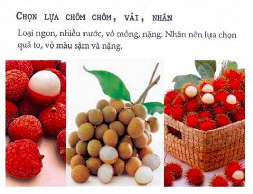 Mẹo chọn lựa chôm chôm, vải, nhãn, 33642, Bich Van, Blog MuaBanNhanh, 30/03/2020 10:16:35