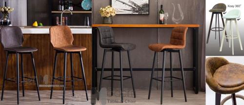 Những mẫu ghế bar chân sắt thân xoay giá rẻ hiện đại TPHCM, 94839, Ms Trang, Blog MuaBanNhanh, 26/05/2020 10:05:07