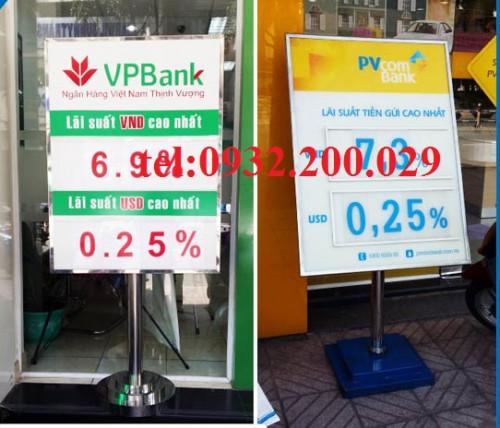 Chất liệu và thông số kỹ thuật của biển lãi suất ngân hàng, 95637, Ms Hằng, Blog MuaBanNhanh, 29/10/2020 11:31:42