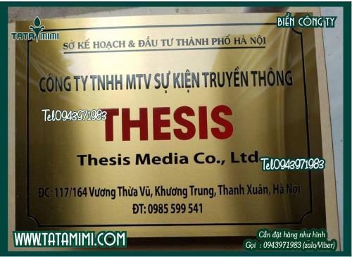 Biển công ty bằng đồng gắn ở cửa chắc chắn, 95779, Ms Hằng, Blog MuaBanNhanh, 29/10/2020 10:55:23