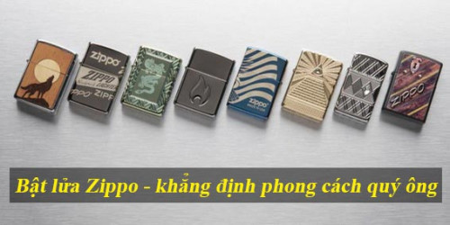 Bật lửa Zippo đẳng cấp khẳng định phong cách quý ông, 96214, Ambe Store, Blog MuaBanNhanh, 29/10/2020 14:46:57