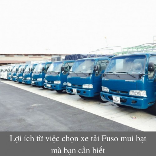 Lợi ích từ việc chọn xe tải Fuso mui bạt mà bạn cần biết, 75858, Lợi Phạm, Blog MuaBanNhanh, 27/11/2017 17:17:03