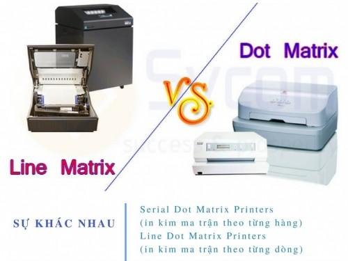 Sự khác biệt giữa máy in Line Matrix và Serial Dot Matrix, 75439, Thu Mua Máy In, Blog MuaBanNhanh, 28/11/2017 16:11:03