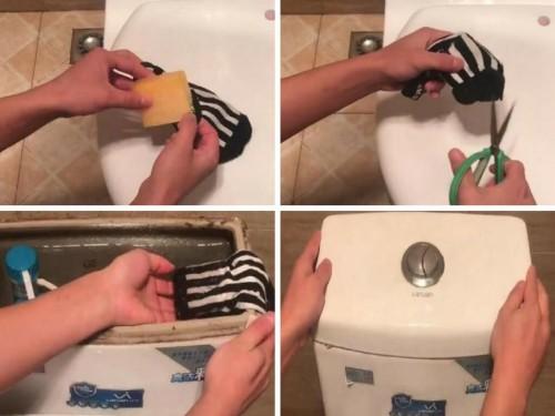 Chỉ với 1 chiếc tất cũ bạn sẽ giúp nhà vệ sinh luôn sạch sẽ, 78925, Phương Thảo, Blog MuaBanNhanh, 03/02/2018 17:32:58