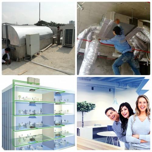 Hướng dẫn cách lắp đặt máy lạnh giấu trần (âm trần) nối ống gió đúng kỹ thuật và an toàn, 78951, Nguyen Thi Thu, Blog MuaBanNhanh, 06/02/2018 09:22:49