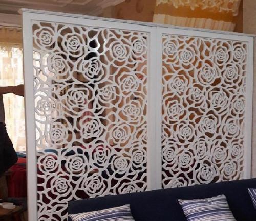 Sáng tạo với vách ngăn CNC hoa hồng trang trí Spa đẹp, 81375, Phạm Thị Yến Nhiên, Blog MuaBanNhanh, 24/05/2018 12:04:48