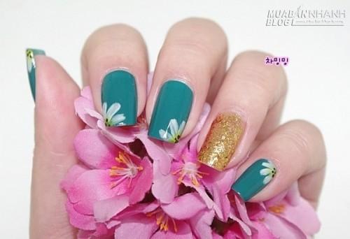 [Nail] - Tràn đầy năng lượng với họa tiết hoa cúc, 36259, Hữu Lợi, Blog MuaBanNhanh, 25/04/2015 11:27:54