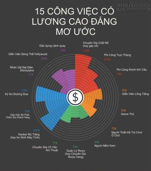 15 công việc lương cao như mơ mà bạn không hay biết, 36978, Nguyễn Thu Hương , Blog MuaBanNhanh, 05/05/2015 15:00:29