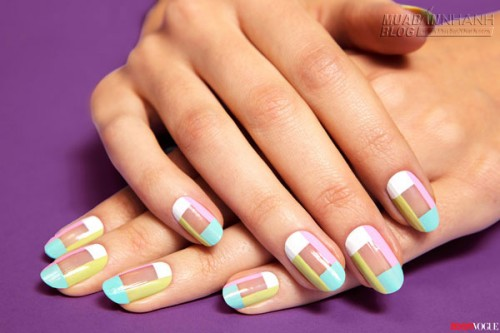 Học cách làm nail sọc Mani màu pastel, 38410, Nguyễn Thu Hương , Blog MuaBanNhanh, 25/05/2015 11:14:13