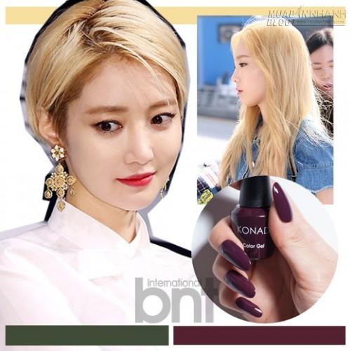 Đi tìm bộ đôi nail - màu tóc nổi ăn ý nhất mùa hè, 43202, Nguyên Khang, Blog MuaBanNhanh, 05/07/2015 01:31:30
