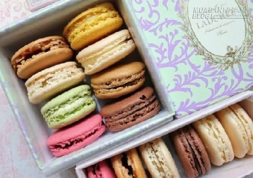 Ngọt ngào hương vị macaron - tiểu thư của ẩm thực Pháp