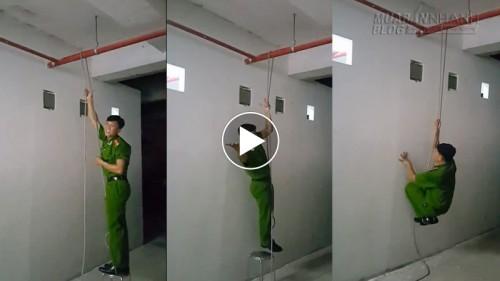 Anh công an hướng dẫn kỹ năng thoát hiểm khi cháy nhà, hỏa hoạn rất hay, 54539, Nguyễn Thu Hương , Blog MuaBanNhanh, 19/10/2015 17:01:17
