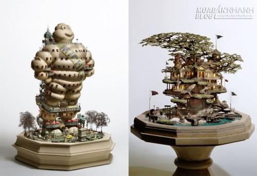 Những lâu đài bonsai tinh xảo, 59165, Nguyễn Thu Hương , Blog MuaBanNhanh, 30/11/2015 10:51:34