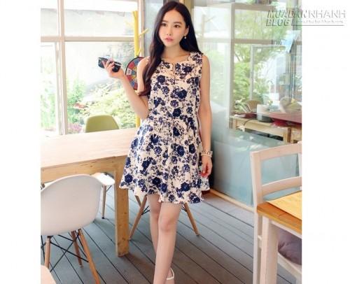 Đầm đẹp kiểu Hàn Quốc, 60601, Kiều Tiên, Blog MuaBanNhanh, 16/12/2015 10:59:18