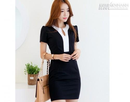 Đầm đẹp công sở, 60609, Thời Trang Nữ, Blog MuaBanNhanh, 16/12/2015 10:58:51